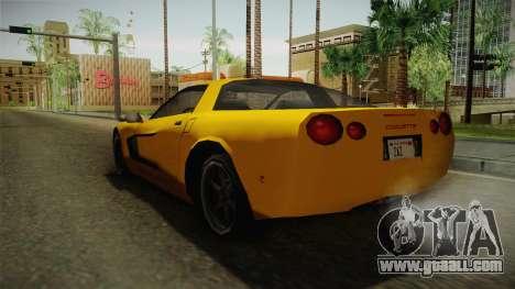 Declasse Coquette 2002 for GTA San Andreas right view