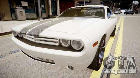 Dodge Challenger Unmarked Police Car for GTA 4