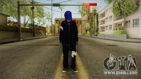 Eyeless Jack Skin for GTA San Andreas second screenshot