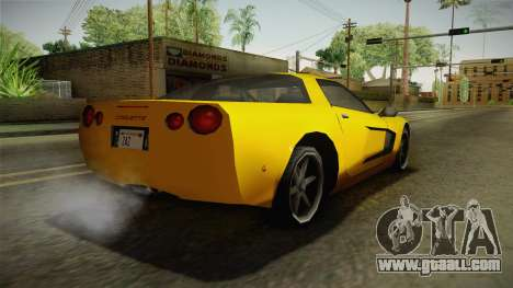 Declasse Coquette 2002 for GTA San Andreas left view