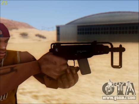 GTA 5 Hawk & Little Mini SMG for GTA San Andreas second screenshot