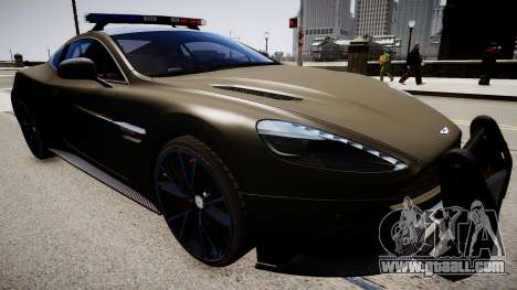 Aston Martin Police for GTA 4