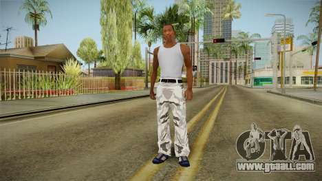 Tights winter camo for GTA San Andreas third screenshot