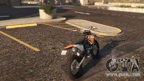 GTA 5 KTM EXC 530 2010 left side view