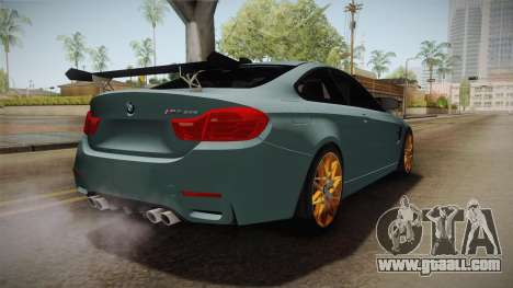 BMW M4 GTS for GTA San Andreas right view
