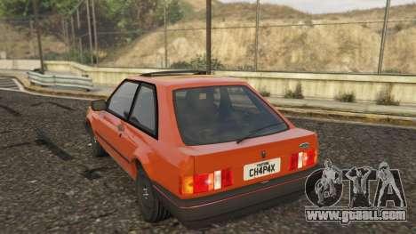 Ford Escort GL Original brasil 1988