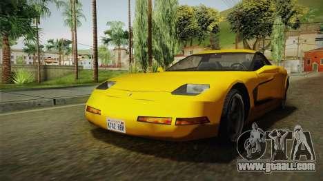 Declasse Coquette 2002 for GTA San Andreas