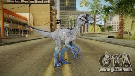 Primal Carnage Velociraptor Hypothermic for GTA San Andreas second screenshot