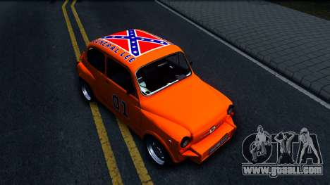 Zastava 850 Abarth General Lee for GTA San Andreas