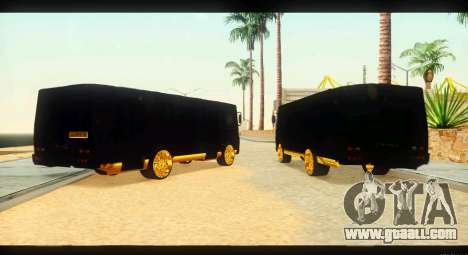 GROOVE 4234 Elite Gold for GTA San Andreas back left view