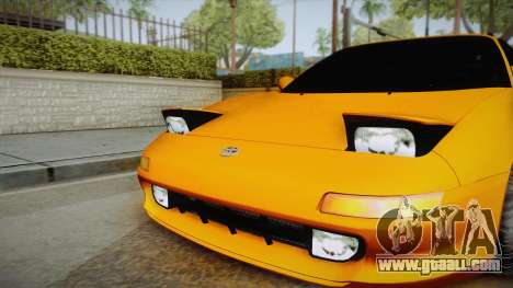 Toyota MR2 for GTA San Andreas right view