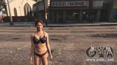 GTA 5 Topless Amanda De Santa