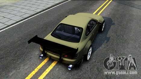 Nissan Silvia S15 Rocket Bunny for GTA San Andreas back view
