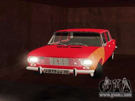 VAZ 2101 For GVR initial version for GTA San Andreas back left view