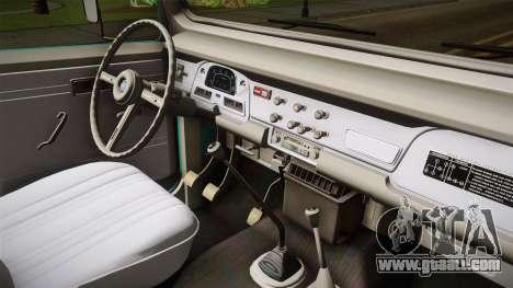 Toyota Land Cruise FJ40 Chasis Largo 1978 for GTA San Andreas