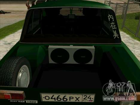 VAZ-21013 for GTA San Andreas inner view