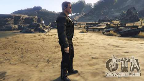 GTA 5 Arnold Terminator 2 Judgment Day second screenshot