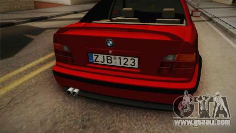 BMW 3 Series E36 Sedan for GTA San Andreas