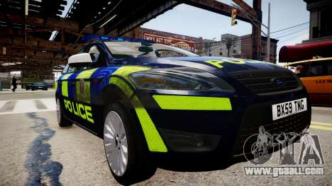 Ford Mondeo Estate police UK for GTA 4