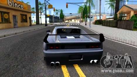 Str1keZs Cheetah for GTA San Andreas back left view