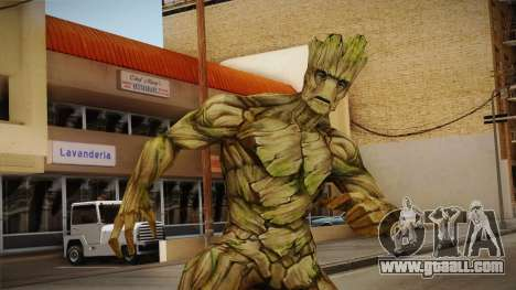 Marvel Future Fight - Groot for GTA San Andreas