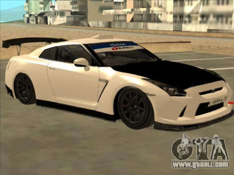 Nissan GT-R Drift JDM for GTA San Andreas back left view