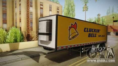 GTA 5 Refrigerated Trailer for GTA San Andreas
