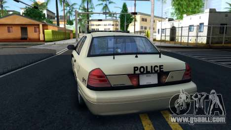 Ford Crown Victoria Generic 2010 for GTA San Andreas back left view
