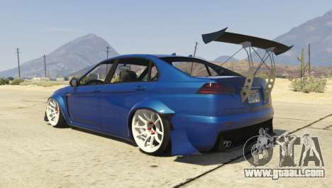 GTA 5 Karin Kuruma Race Spec left side view