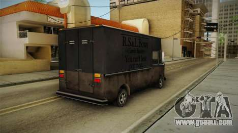 Boxville from Vice City for GTA San Andreas back left view