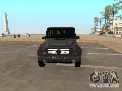Mercedes-Benz G500 Armenian for GTA San Andreas left view