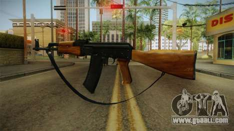 AK47 with strap for GTA San Andreas