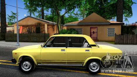 VAZ 2107 USSR for GTA San Andreas left view