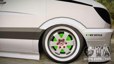Mercedes-Benz Sprinter v2 for GTA San Andreas