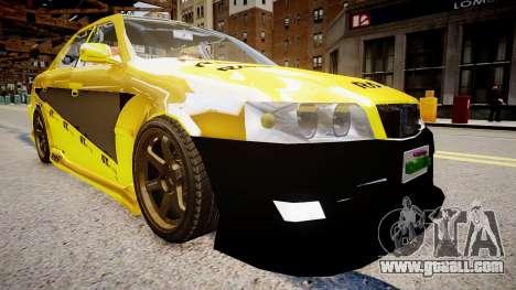 Toyota Chaser Tokyo Drift for GTA 4