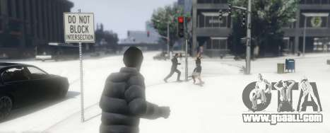 GTA 5 Snowballs in Singleplayer