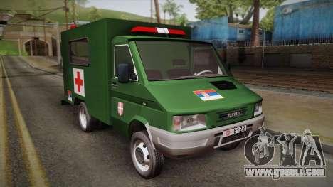 Zastava Rival Military Ambulance for GTA San Andreas