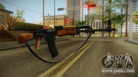 AK47 with strap for GTA San Andreas second screenshot