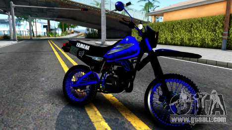 Yamaha DT 125 for GTA San Andreas left view