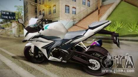 Honda CBR150R 2016 White Row for GTA San Andreas