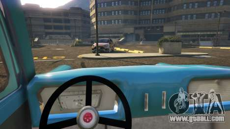 GTA 5 Ford Anglia 1959 from Harry Potter right side view