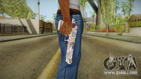 Colorful Desert Eagle for GTA San Andreas