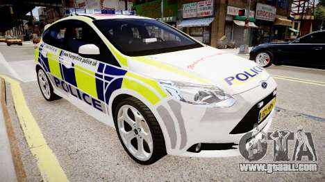 Ford Focus 2013 Swedish Police for GTA 4