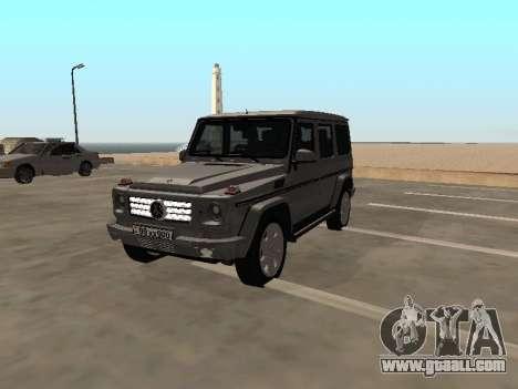 Mercedes-Benz G500 Armenian for GTA San Andreas
