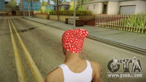 Christmas hat for GTA San Andreas second screenshot