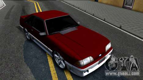Ford Mustang 1993 for GTA San Andreas right view