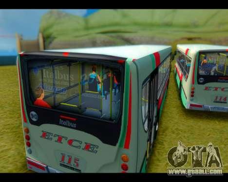 Italbus Bello 2016 115 ETCE for GTA San Andreas
