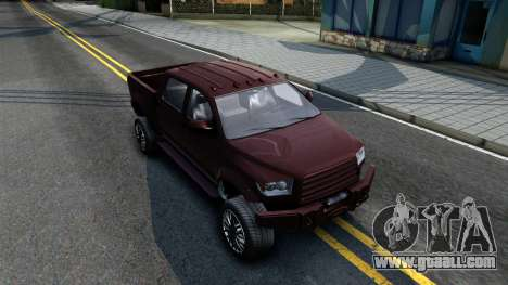 GTA V Vapid Contender for GTA San Andreas right view