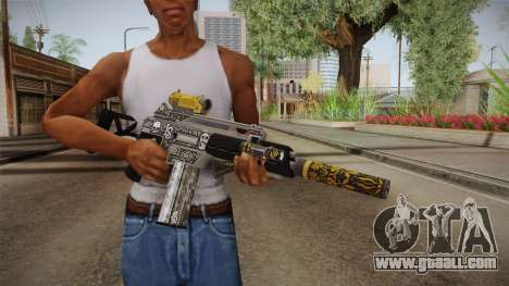 GTA 5 Special Carbine P v1 for GTA San Andreas