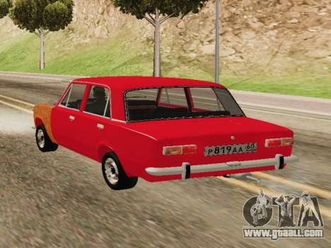 VAZ 2101 For GVR initial version for GTA San Andreas left view
